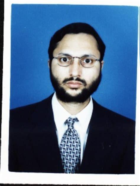 Dr nabeel ahmed zubairi thesis